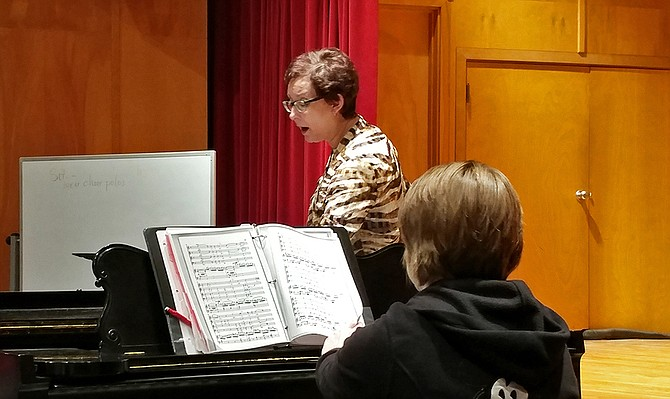 Director of Choral Ensembles Cathy Crispino